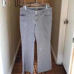 Tommy Jeans vntg striped jeans s 13 nwot
